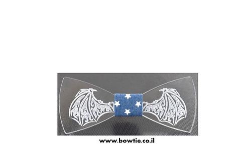 עניבת פפיון גביש אקרילי קריסטל