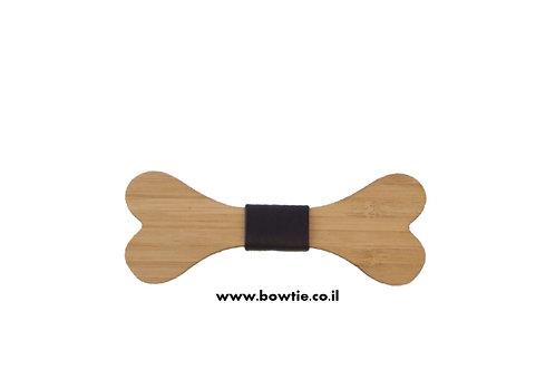 עניבת פפיון עץ עצם