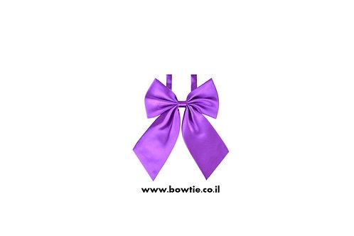 עניבת פפיון פרפר סגולה