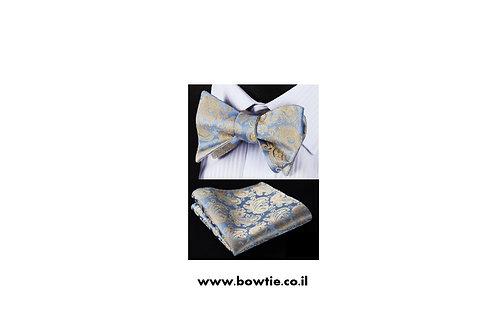 סט עניבת פפיון קשירה ומטפחת כיס