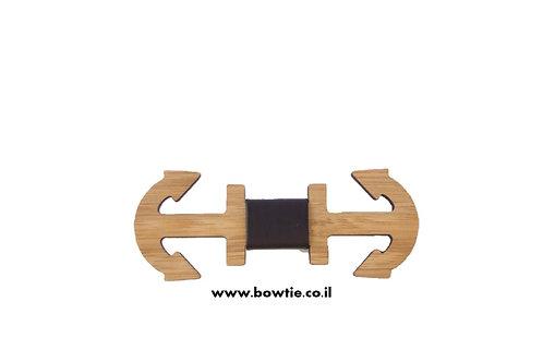 עניבת פפיון עץ עוגן