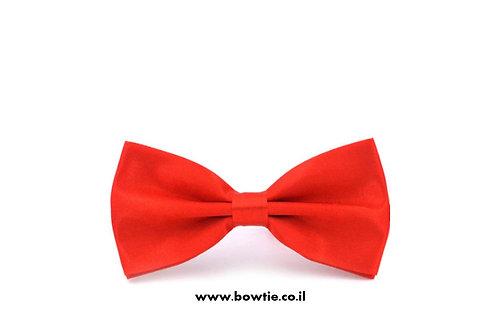 עניבת פפיון אדומה