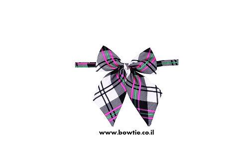 עניבת פפיון פרפר צבעוני סקוטי