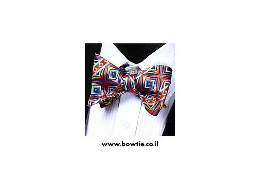 עניבת פפיון קשירה צורות גיאומטריות