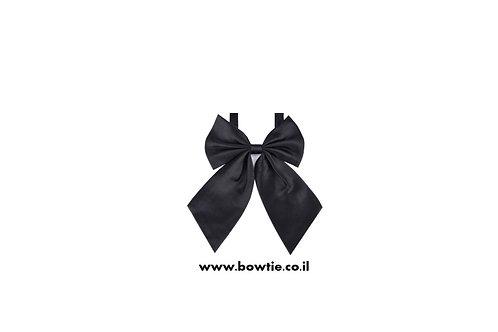 עניבת פפיון פרפר שחורה