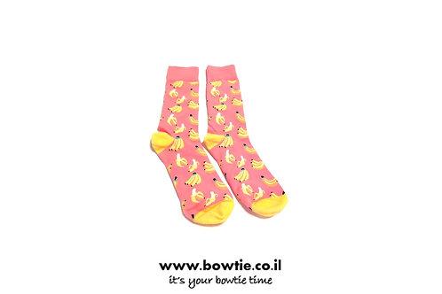 גרביים בננה