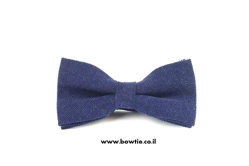 עניבת פפיון קורדרוי כחולה