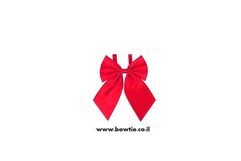 עניבת פפיון פרפר אדומה