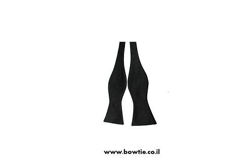 עניבת פפיון קשירה שחורה