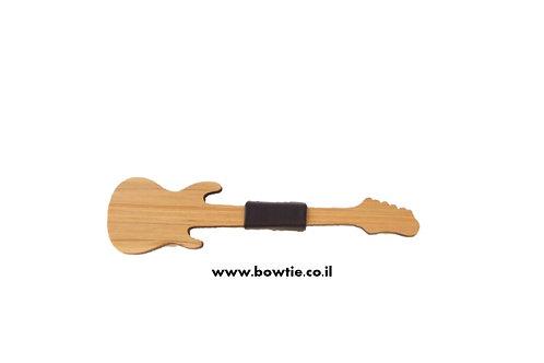 עניבת פפיון עץ גיטרה