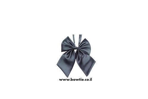 עניבת פפיון פרפר אפורה