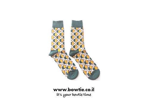 גרביים צורות גיאומטריות