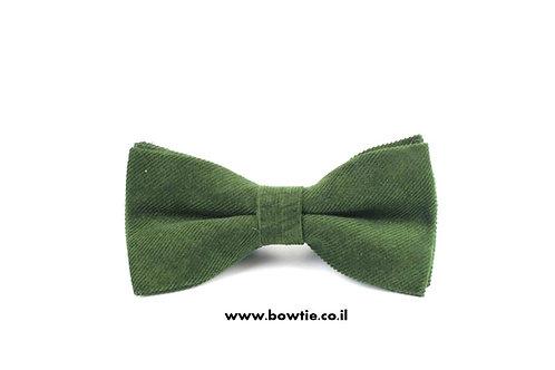 עניבת פפיון קורדרוי ירוקה