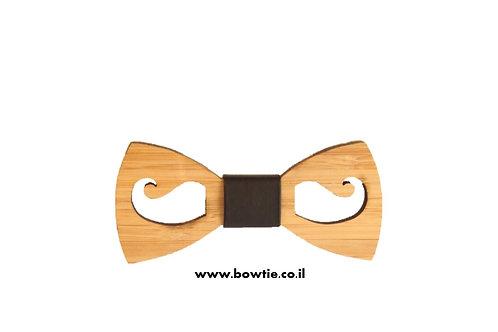 עניבת פפיון עץ שפם