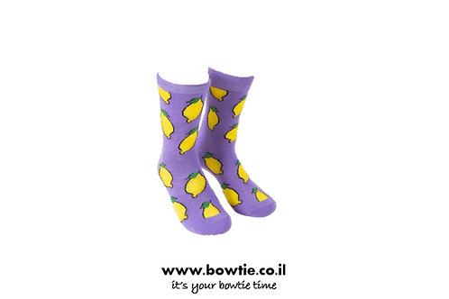 גרביים לימון