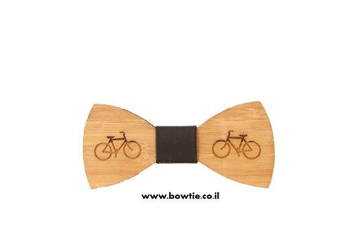 עניבת פפיון עץ אופניים