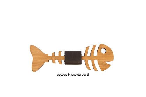 עניבת פפיון עץ דג