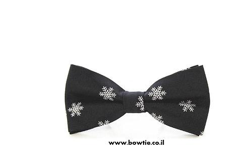 עניבת פפיון שחורה כריסמס