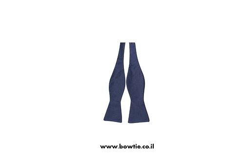 עניבת פפיון קשירה כחולה