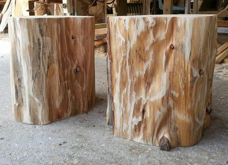 כסאות עץ טבעי