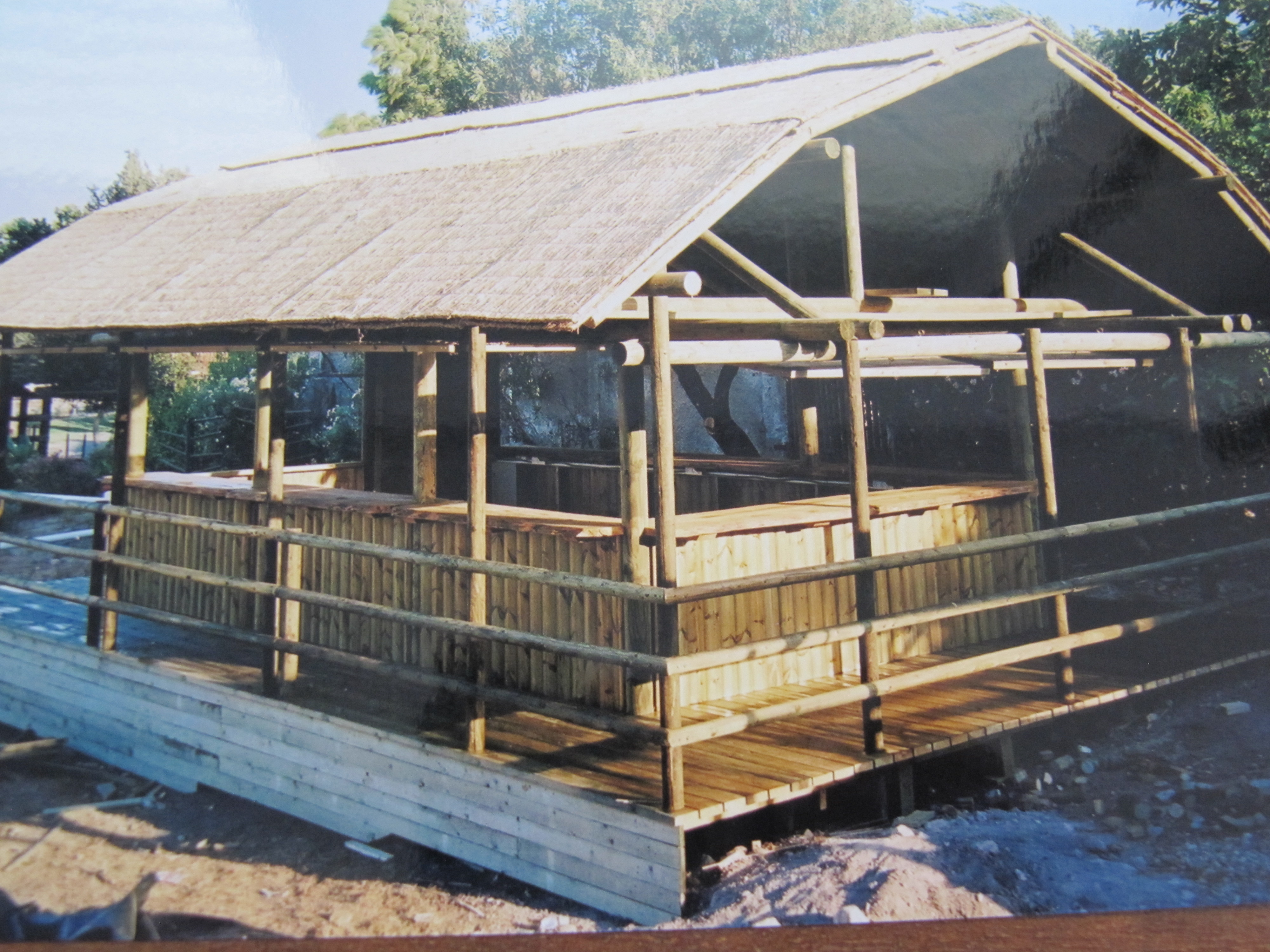 מסעדה מעץ