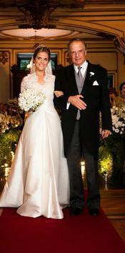Casamento da princesa dona Amélia de Orléans e Bragança e Alexander James Spearman