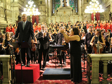 Projeto Candelária apresentou o Concerto de Natal com participação de Danilo Caymmi