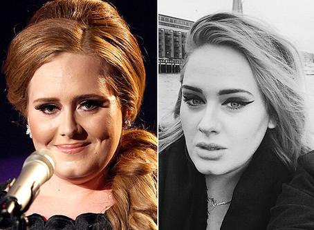 Adele perde 30 kg com dieta radical e hipnose; veja