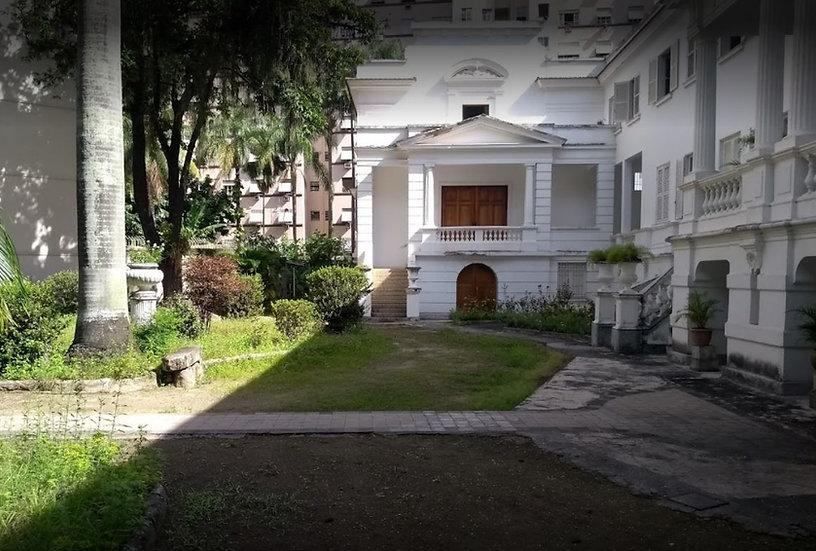 Conjunto do Convento, Capela de Nossa Senhora do Cenáculo e Aleia de Palmeiras