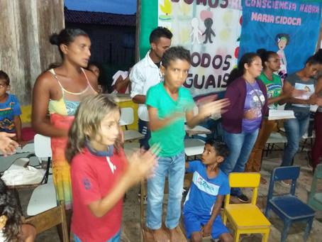 Frades do IFM de Nossa Senhora em missão no Maranhão
