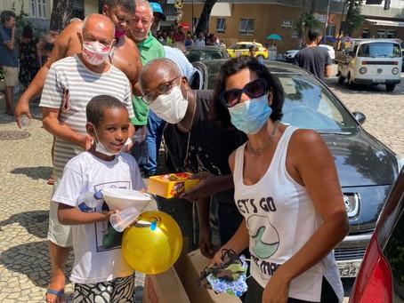 Missionários promovem a almoço especial de Páscoa com os irmãos em situação de rua