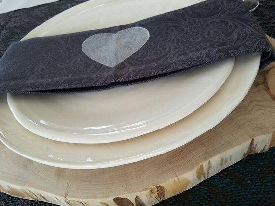 טבעת עץ לעיצוב השולחן
