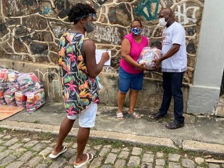 Missionários de Nossa Senhora finalizam 2020 com distribuição de 10 toneladas de alimentos