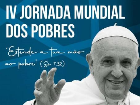 Cáritas brasileira e Pastorais Sociais iniciam mobilização para 4ª Jornada Mundial dos Pobres