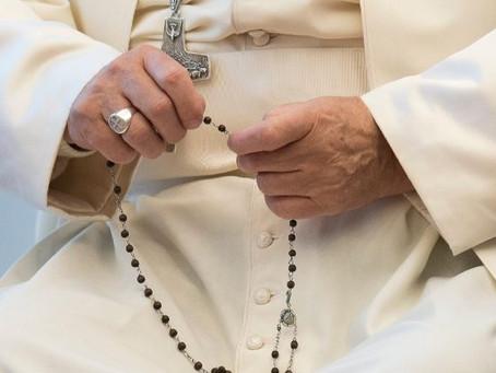 Papa Francisco presidirá oração do Terço pelo fim da pandemia