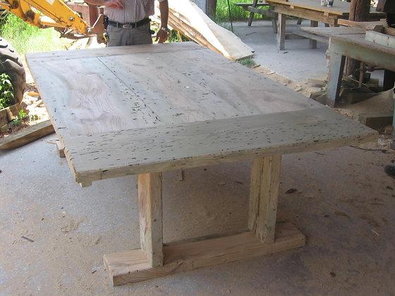 שולחן עץ טבעי - דגמים שונים