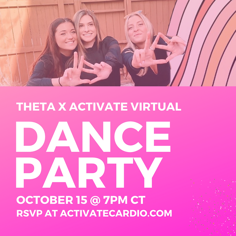 PRIVATE EVENT    THETA THROWBACK HITS DANCE PARTY