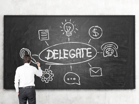 Delegate: Both you and your staff will increase skills, trust, and judgment