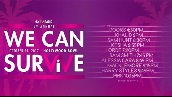 Alessia Cara: Performing LIVE at the Hollywood Bowl | CBSRadio's - We Can Survive