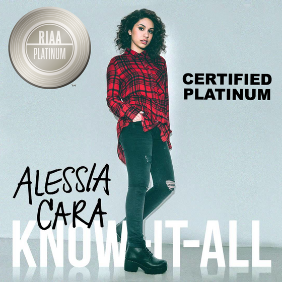 Co-Wrote & Co-Produced Alessia's album