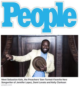 People Magazine - Sebastian Kole
