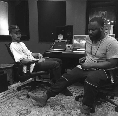 Sebastian Kole & Ljay Currie in the studio