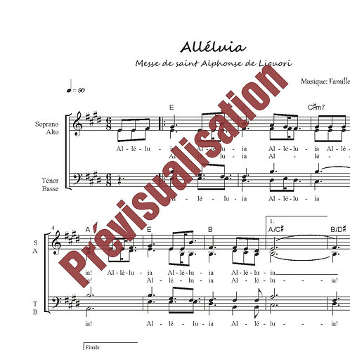 Alléluia (Messe de St-Alphonse)
