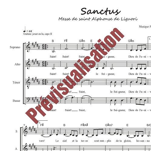 Sanctus (Messe de St-Alphonse)