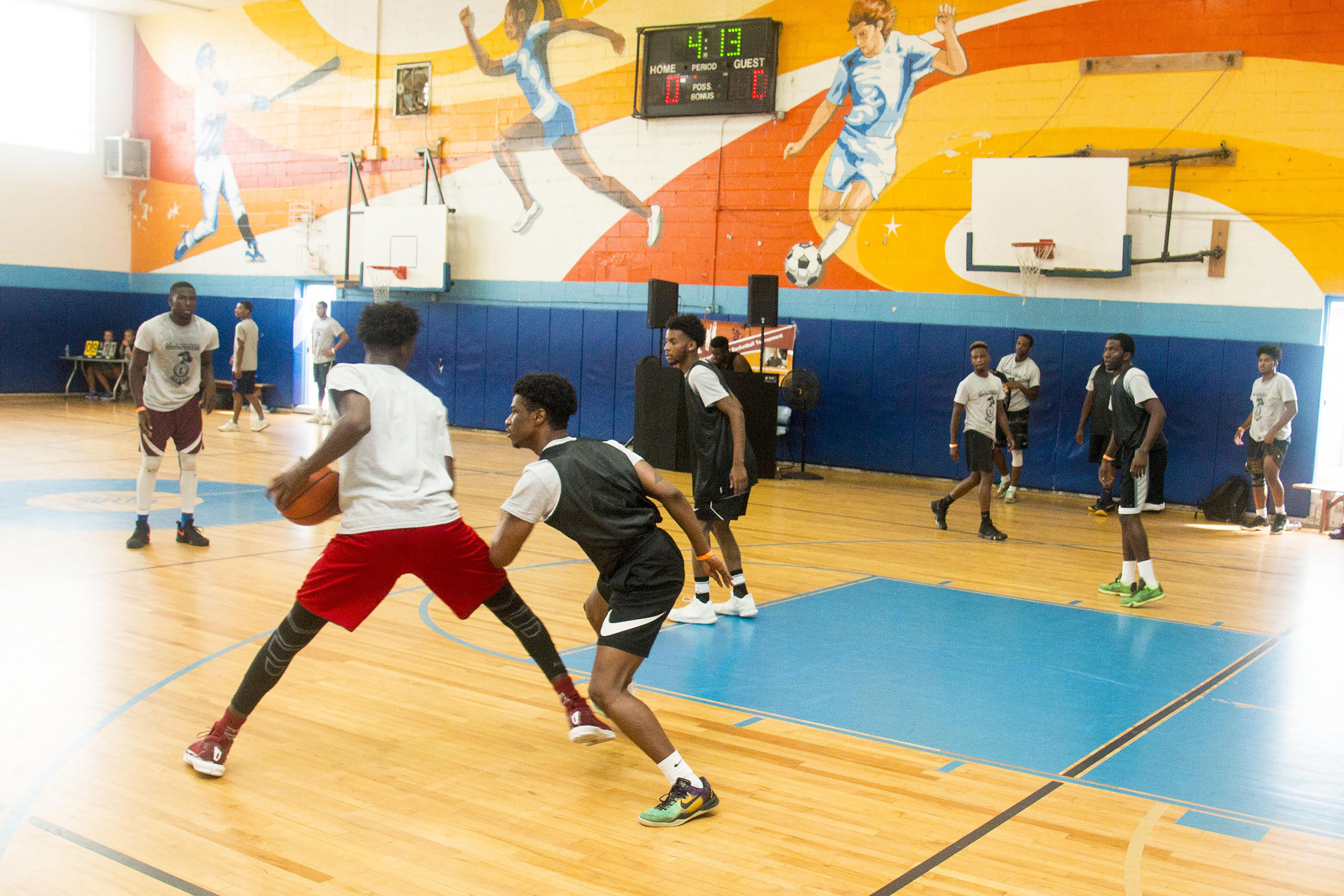 L-Train Memorial Foundation - Annual 3-On-3 Tournament (Boys and Girls Club Union, NJ) 08-07-16_0124