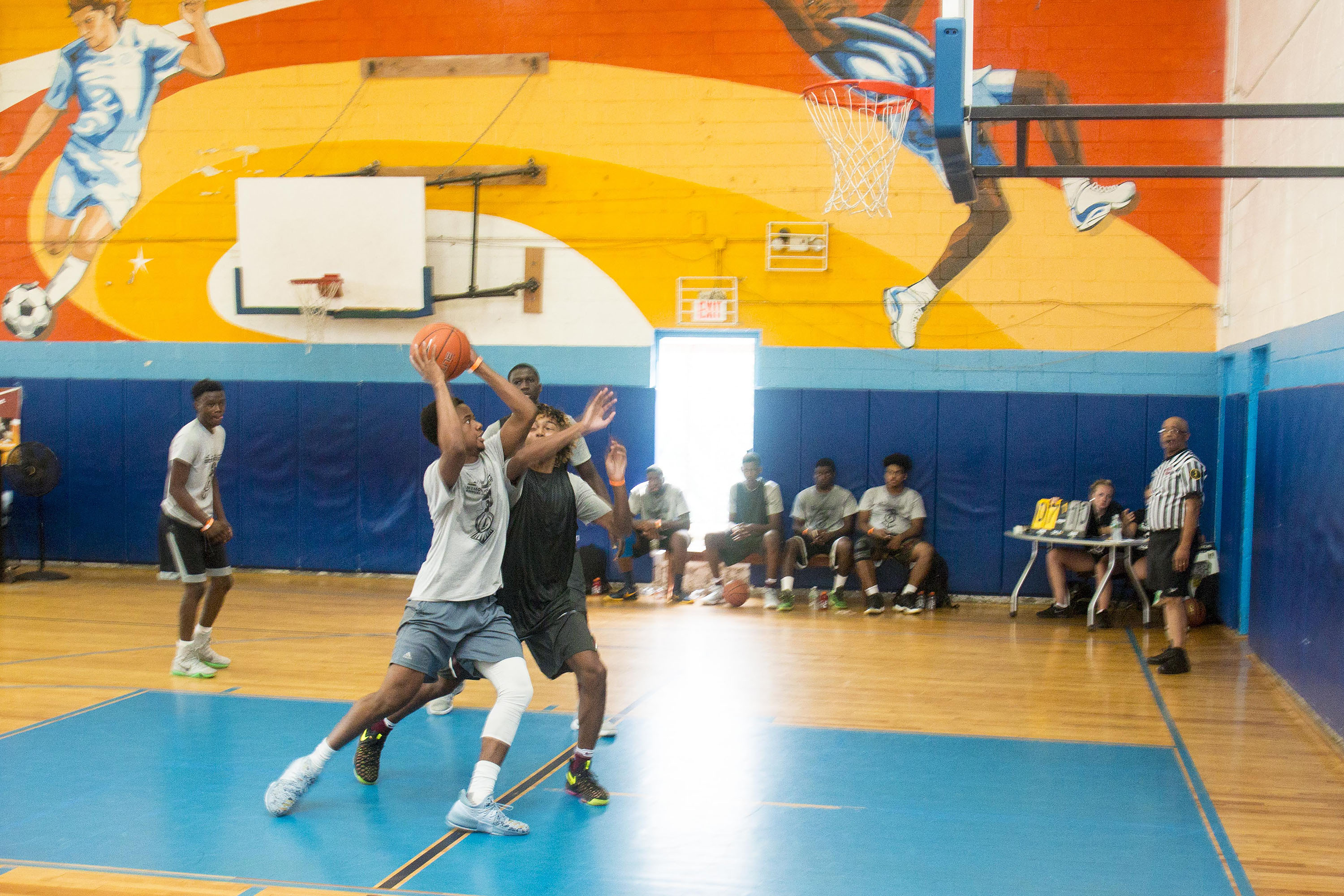 L-Train Memorial Foundation - Annual 3-On-3 Tournament (Boys and Girls Club Union, NJ) 08-07-16_0141