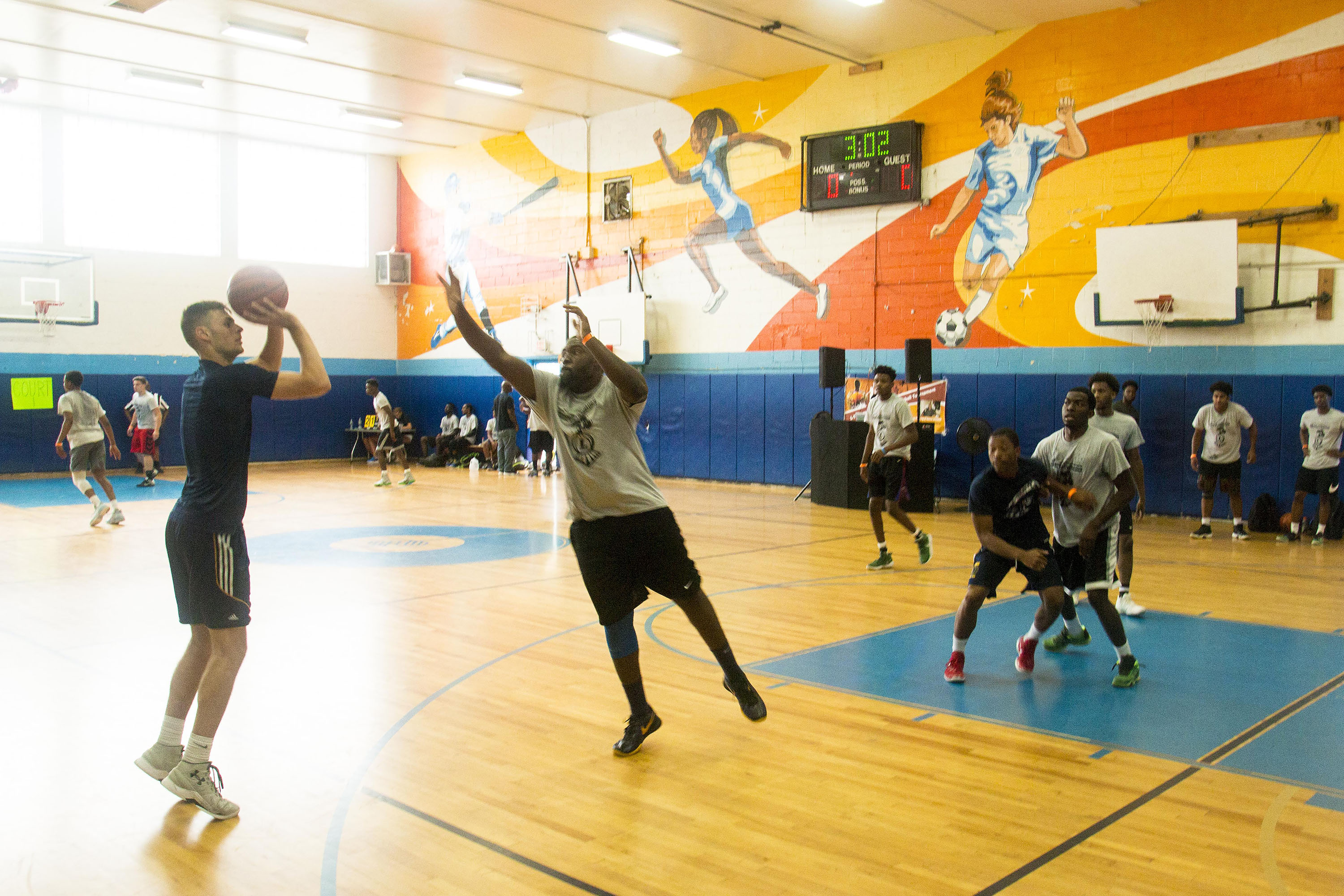 L-Train Memorial Foundation - Annual 3-On-3 Tournament (Boys and Girls Club Union, NJ) 08-07-16_0105