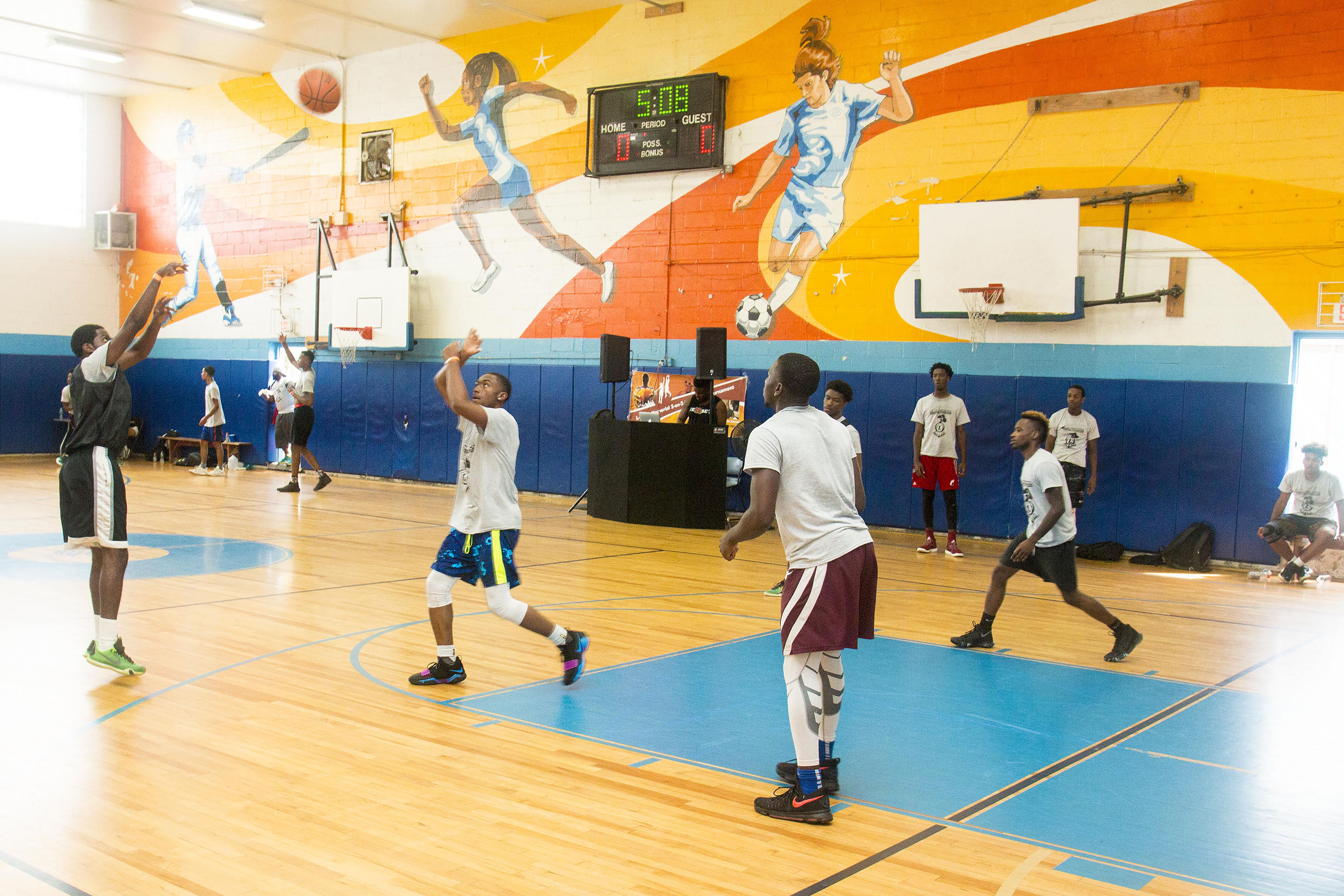 L-Train Memorial Foundation - Annual 3-On-3 Tournament (Boys and Girls Club Union, NJ) 08-07-16_0121