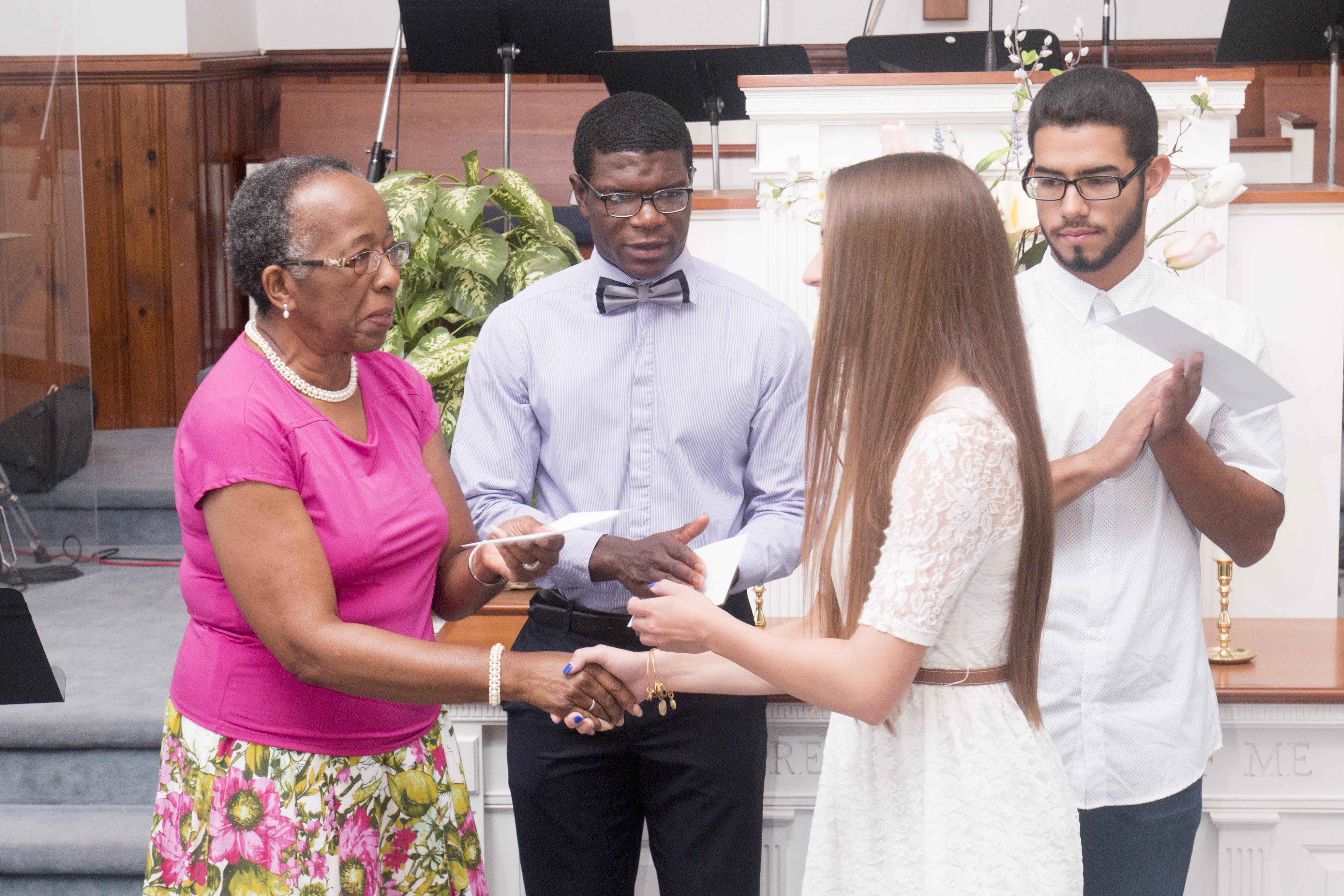 L-Train Memorial Foundation - Scholarship Presentation (West Orange, NJ) 06-19-16_0010