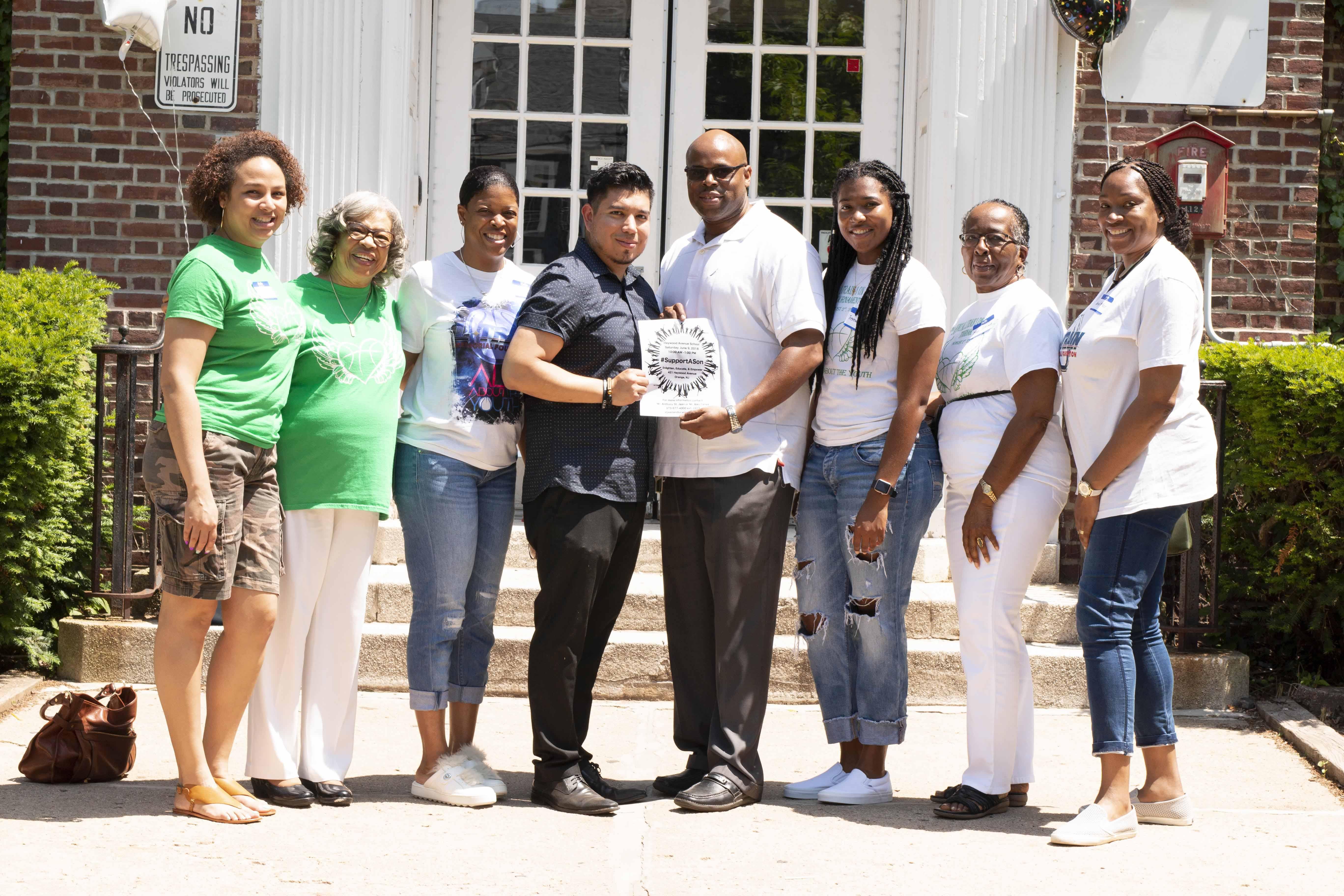 L-Train Memorial - #SupportASon (Heywood Avenue Elementary School, Orange NJ) 06-09-18_0042